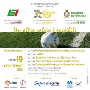 """Premio Effemeridi 2011 nell'ambito dell'iniziativa """"Un altro calcio è possibile"""""""